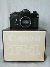 Early CANON F-1 CAMERA WITH CANON Original Box Matching Serial #
