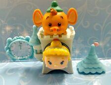 Cinderella & Gus Tsum Tsum Stackable med vinyl with Mystery Castle Disney