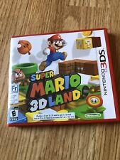 Super Mario 3D Land (Nintendo 3DS, 2011) Cib CC