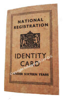 1940s/WW2 Blitz Wartime Memorabilia Kids-under 16 IDENTITY CARD Great for School