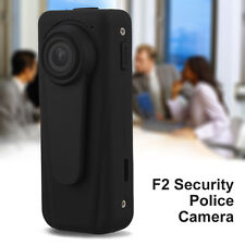 F2 Police Camera HD 1080p Video Aduio Voice Recorder Auto Cycle Security Bobycam