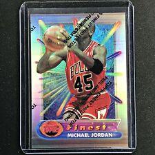 1994-95 Topps Finest MICHAEL JORDAN Silver Refractor #331 - Coating On (C)