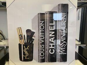 YSL Yves Saint Laurent Louis Vuitton CHANEL decor Art Canvas picture 30inx30in