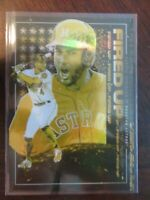 2019 Topps Fire FIRED UP Gold Minted George Springer FIU-9 Tyson Beck