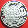 "ND (2008) COOK ISLANDS $5 SILVER PROOF ""PRUSSEN"" 5-MASTED RIGGER GERMANY SHIP"