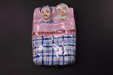 Limoges Hand Painted Rochard Sleeping Couple Porcelain Box