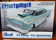 NEW Revell '55 CHEVY PRO SPORTSMAN 1:25 Scale Model Kit ~ RARE!   Open Box