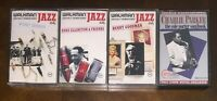 4 Verve Jazz Cassette Ellington Benny Goodman Woody Herman CrO2 chrome BASF vg+