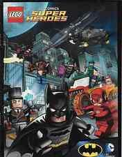 Super Heroes Lego Rare Giveaway Promo Dc Universe Superheroes Batman Mini Comic