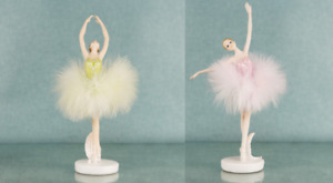 Ballerina Lady Dancer Figurine / Ornament.New.Choose From 2 Poses