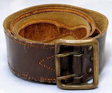 Russia Soviet USSR Uniform Belt Army officer brown Soviet Military Leather #8292