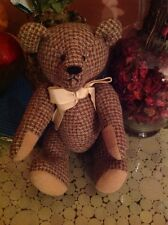 "Keepsake Memories Plush 8"" Tall Teddy Bear with  hands & feet move free around."