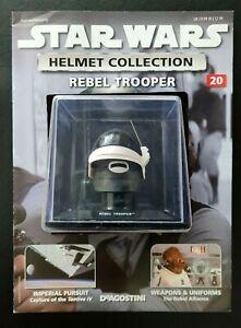 "Star Wars Helmet ""Rebel Trooper"" Issue 20 ""Deagostini"" Collection"