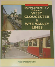 WEST GLOUCESTER WYE VALLEY LINES Supplement Photos NEW Steam Railway History