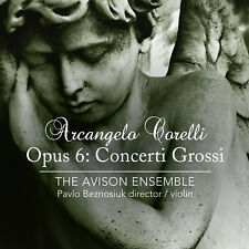 Arcangelo Corelli Concerti Grossi op.6 The Avison Ensemble Linn Records 2 CDs