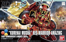 Bandai Gunpla Super Deformed Sdbf Gundam Kurenai Musha Red Warrior Amazing