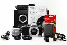 Olympus OM-D E-M10 16.1MP 14-42mm Lens Set [Exc+++] w/Box,8GB SD Card,Strap[jkh]