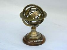 Collectible Vintage Sphere Armillary Nautical Antique Globe Table Top Armillary