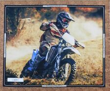 Patchwork Quilting Sewing Fabric Dirt Bikes Cornering Panel 90x110cm New Mate...