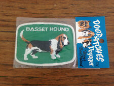 Basset Hound Dog Patch-Sealed by Voyager-Free Shipping-Stocking Stuffers