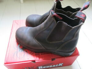 Redback Australian Leather Safety Boots (steel toe cap)