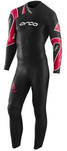 Orca TRN Mens Wetsuit Black Open Water Swimming Triathlon Training