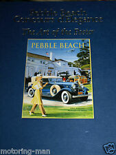 PEBBLE BEACH CONCOURS D'ELEGANCE ART OF POSTER 1950 2003 ROBERT T GREVLIN RARE