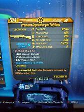 Supercharged Polybius Borderlands 3 Rare Legendary 100% Damage Anointed Xbox 1