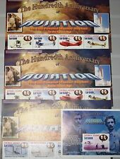 SIERRA LEONE 2004 4459-66 4779-82 Block 581 Wright Bros Flugzeuge Airplanes MNH