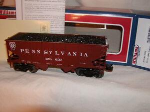Williams Bachmann 48202 Pennsylvania 55 Ton USRA Outside Braced Hopper O 027 MIB