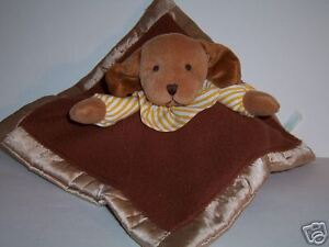 SECURITY BLANKET HARVEST MOON BY RUSS -- BROWN PUPPY