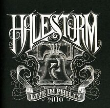 Live In Philly 2010 (Cd/Dvd) - Halestorm (2010, CD NUEVO)