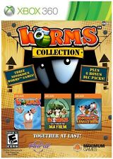 Worms Collection (Microsoft Xbox 360, 2013) GOOD