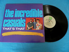 """The Incredible Casuals That's That """"ROUNDER"""" LP LISTEN"""