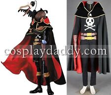 Ginga Tetsudou 999 Cosplay Costume Captain Harlock Outfit