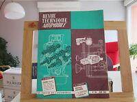 REVUE TECHNIQUE AUTOMOBILE N°194 JUIN 1962 TBE SAVIEM BERLIET SIMCA UNIC