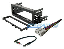 CAR TRUCK STEREO RADIO CD PLAYER DECK INSTALLATION KIT DASH WITH WIRING HARNESS