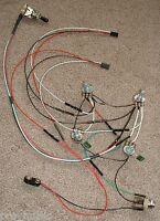 EMG Solderless EZ-INSTALL Wiring KIT Les Paul 2 ACTIVE PU 2V 2T 3-Way BLACK NEW*
