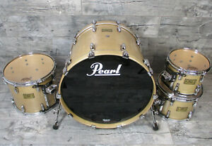 Pearl Masters BRX 22,10,12,14 Platinum Mist Drumset Schlagzeug  •TOPZUSTAND•