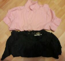 2 Ladies Next Tops 1 Blouse 1 Lace Size 18