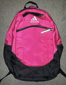 Hot Pink & Black Adidas Backpack Never Used Great Condition