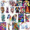 5D DIY Colorful Animal Diamond Painting Embroidery Cross Stitch Kit Mosaic Craft