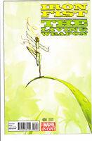 Iron Fist Living Weapon #1 Del Mundo Animal Variant, NM 1st Print, Marvel 2014