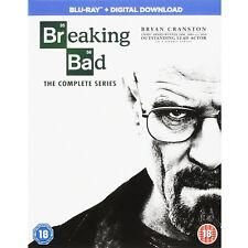BREAKING BAD- THE COMPLETE SERIES - SEASONS 1 2 3 4 & 5**BRAND NEW BLU RAY**