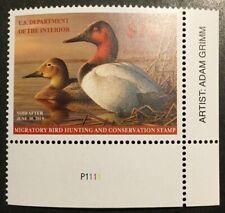 Tdstamps: Us Federal Duck Stamps Scott#Rw81 $15 Mint Nh Og w/ Artist Name