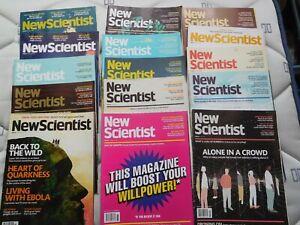 New Scientist magazines