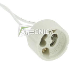 Branchement gu10 avec câbles souples
