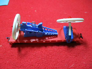 Vintage 1960's Lionel HO Scale Working Turbo-Missile Car With Instructions
