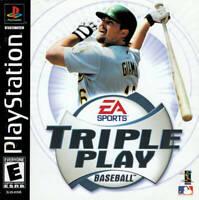 Triple Play Baseball - PS1 PS2 Playstation Game