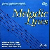 Bush; Dring; Lalliet; Poulenc; Stoker; Thompson: Melodic Lines - Oboe, Bassoon &